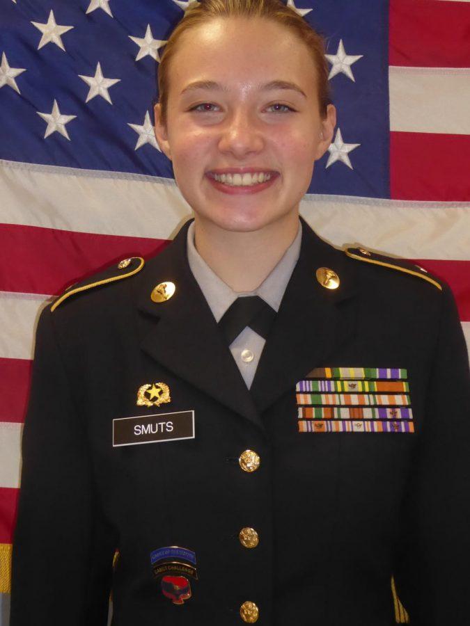 Cadet of Term 1: Cadet Corporal Bethany Smuts