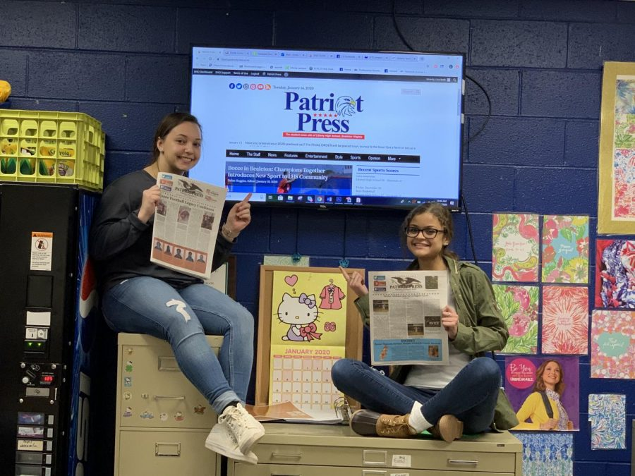 Newspaper Staff Converts to All Digital This Spring Term