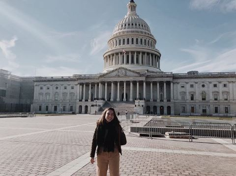 Anna Urbanski went on her government class field trip to tour the Capitol.