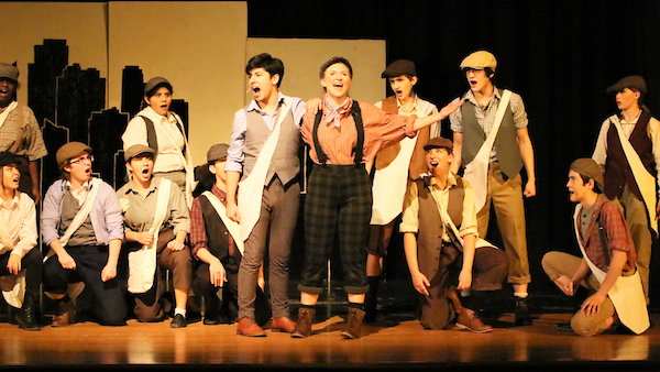 Newsies - A Talon Yearbook Photo Feature