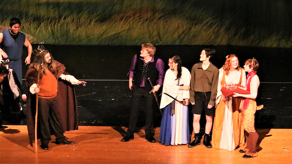 The Lion, The Witch, and The Wardrobe - A Talon Yearbook Photo Feature