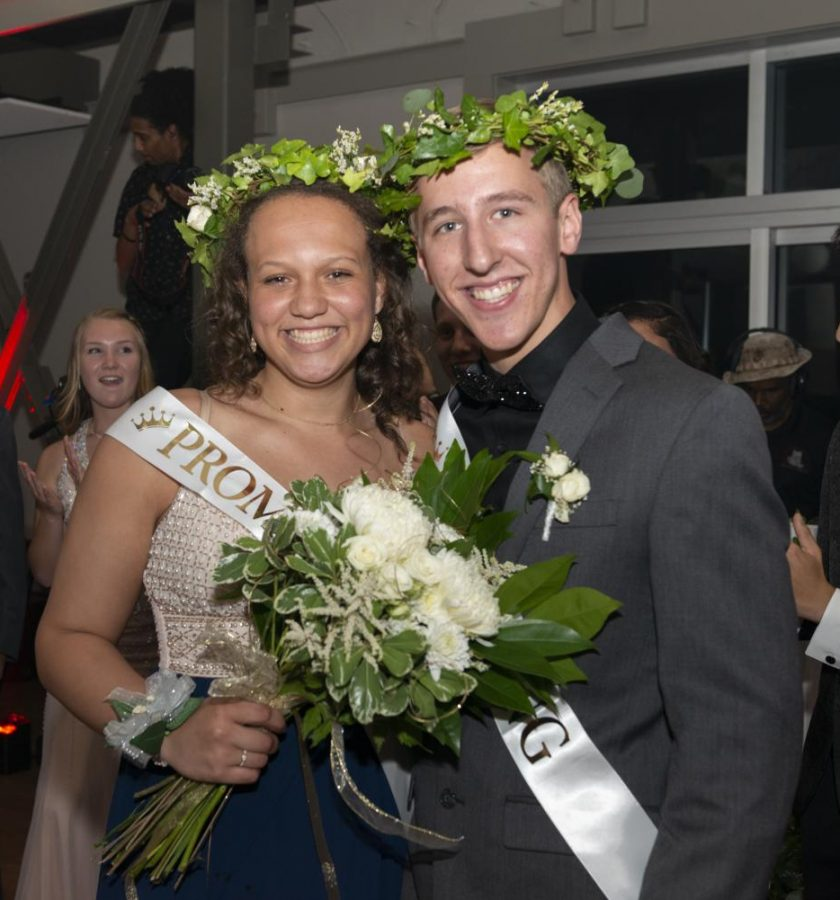 Jordan Hadler and Michael Chiccehitto were crowned King and Queen at last year's 2019 Prom.