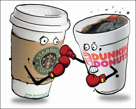 Starbucks or Dunkin Donuts: Whats Your Go-To?