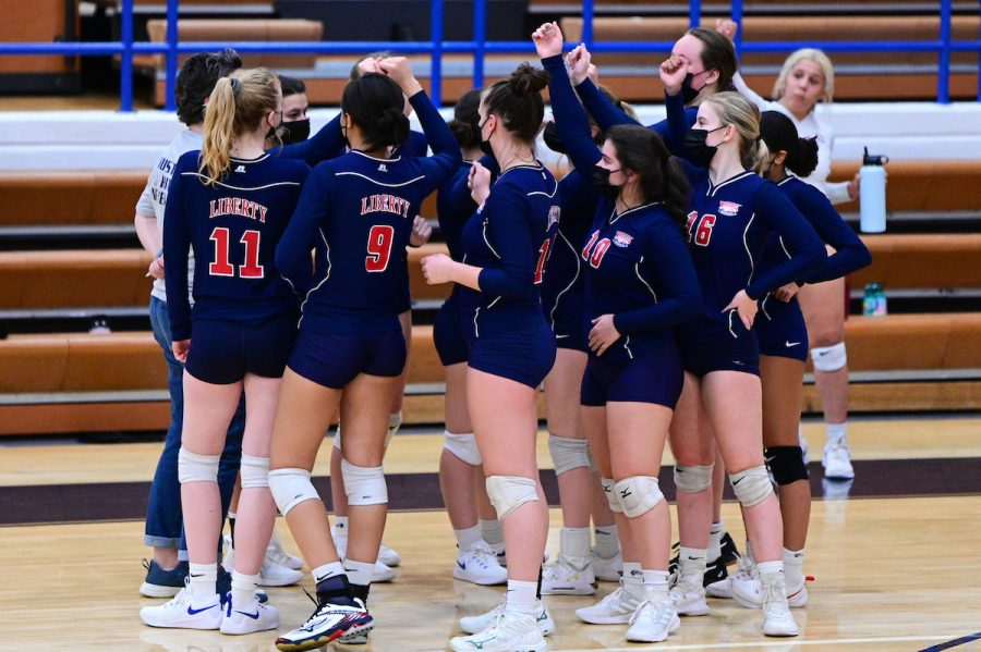 Girls Volleyball Continues to Tough Through a Strict, Shortened Season
