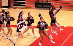 Competition Cheer Takes First Place at District Competition