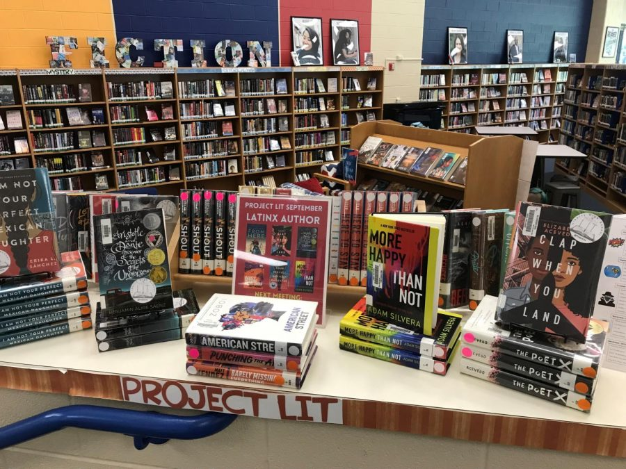 More information on Project Lit can be found by students in the LHS library.