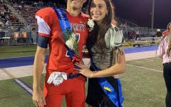 Seniors Jacob Laws and Nicole Cabanban were named 2021Homecoming King and Queen. Photo courtesy of Nicole Cabanban